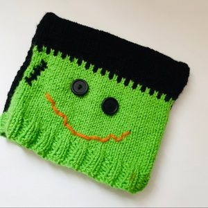Toddler Boys Knitted Frankenstein Hat